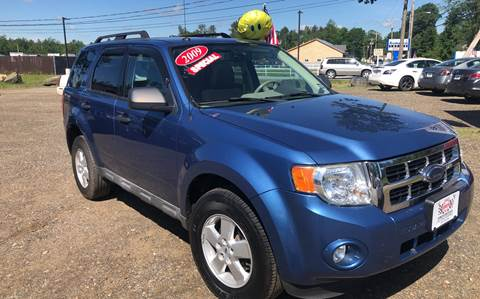 2009 Ford Escape for sale at Winner's Circle Auto Sales in Tilton NH
