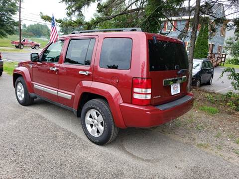 2011 Jeep Liberty for sale at Winner's Circle Auto Sales in Tilton NH