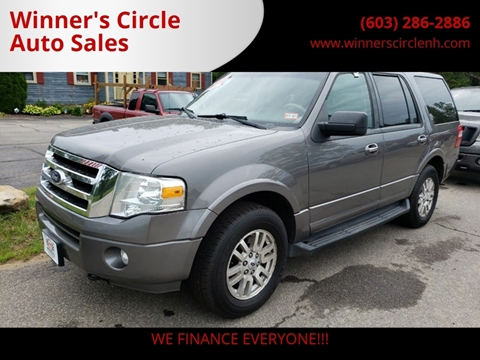 2011 Ford Expedition for sale at Winner's Circle Auto Sales in Tilton NH