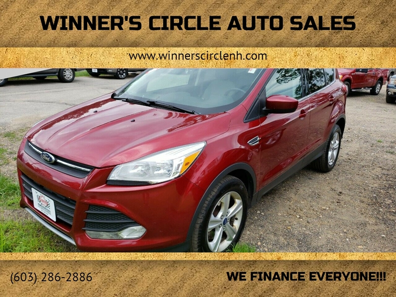 2014 Ford Escape for sale at Winner's Circle Auto Sales in Tilton NH