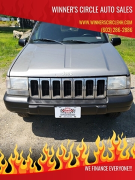 1998 Jeep Grand Cherokee for sale at Winner's Circle Auto Sales in Tilton NH
