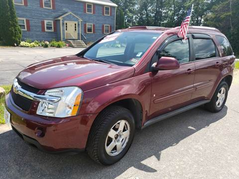 2008 Chevrolet Equinox for sale at Winner's Circle Auto Sales in Tilton NH