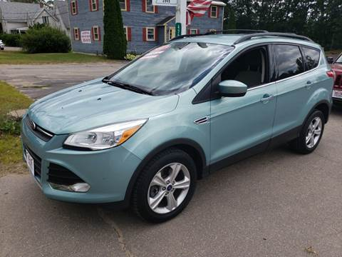 2013 Ford Escape for sale at Winner's Circle Auto Sales in Tilton NH