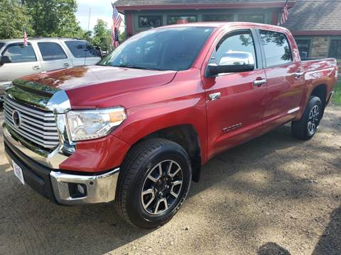 2017 Toyota Tundra for sale at Winner's Circle Auto Sales in Tilton NH