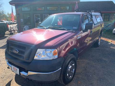 2005 Ford F-150 for sale at Winner's Circle Auto Sales in Tilton NH