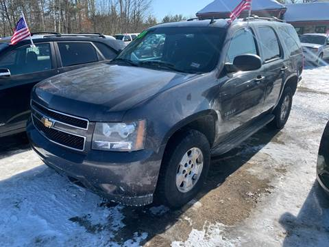 2010 Chevrolet Tahoe for sale at Winner's Circle Auto Sales in Tilton NH