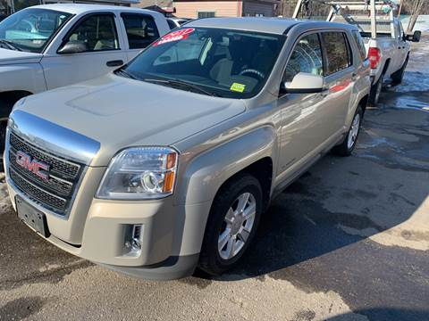 2011 GMC Terrain for sale at Winner's Circle Auto Sales in Tilton NH