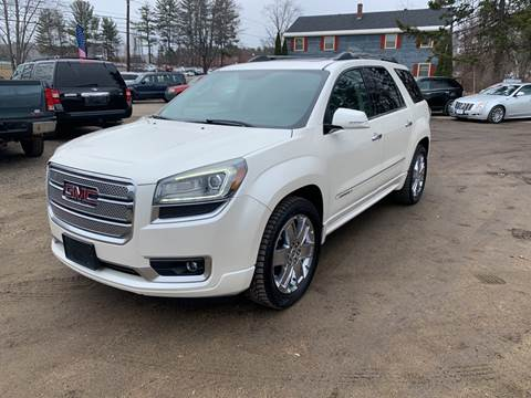 2013 GMC Acadia for sale at Winner's Circle Auto Sales in Tilton NH