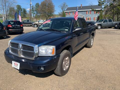 2007 Dodge Dakota for sale at Winner's Circle Auto Sales in Tilton NH