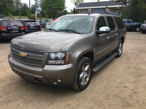2012 Chevrolet Suburban for sale at Winner's Circle Auto Sales in Tilton NH