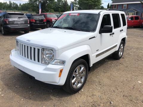 2012 Jeep Liberty for sale at Winner's Circle Auto Sales in Tilton NH
