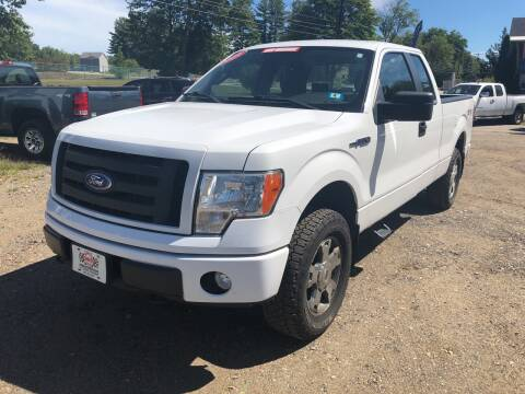 2009 Ford F-150 for sale at Winner's Circle Auto Sales in Tilton NH