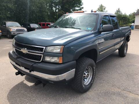 2006 Chevrolet Silverado 2500HD for sale at Winner's Circle Auto Sales in Tilton NH