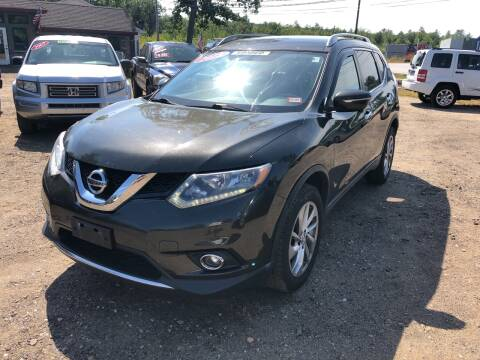 2015 Nissan Rogue for sale at Winner's Circle Auto Sales in Tilton NH