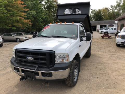 2006 Ford F-250 Super Duty for sale at Winner's Circle Auto Sales in Tilton NH