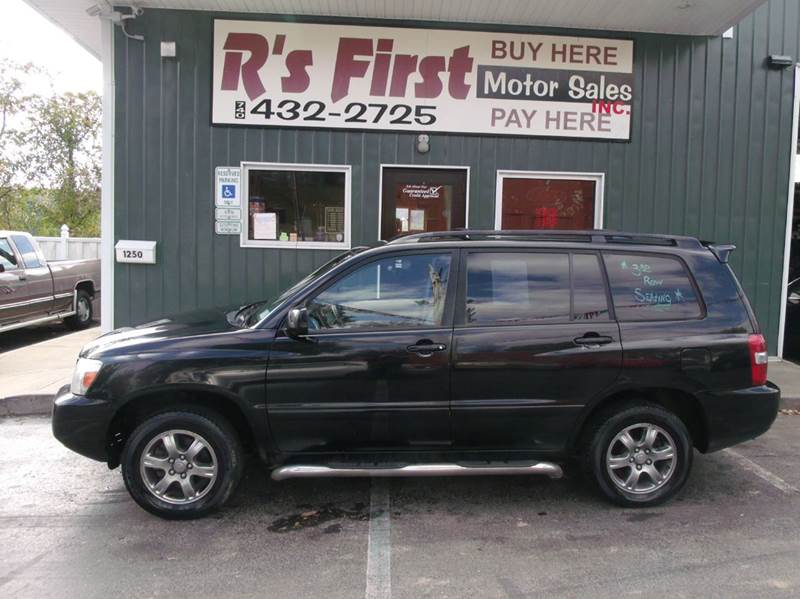 2006 Toyota Highlander for sale at R's First Motor Sales Inc in Cambridge OH