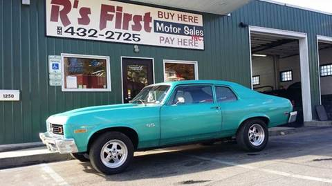 1973 Chevrolet Nova for sale at R's First Motor Sales Inc in Cambridge OH