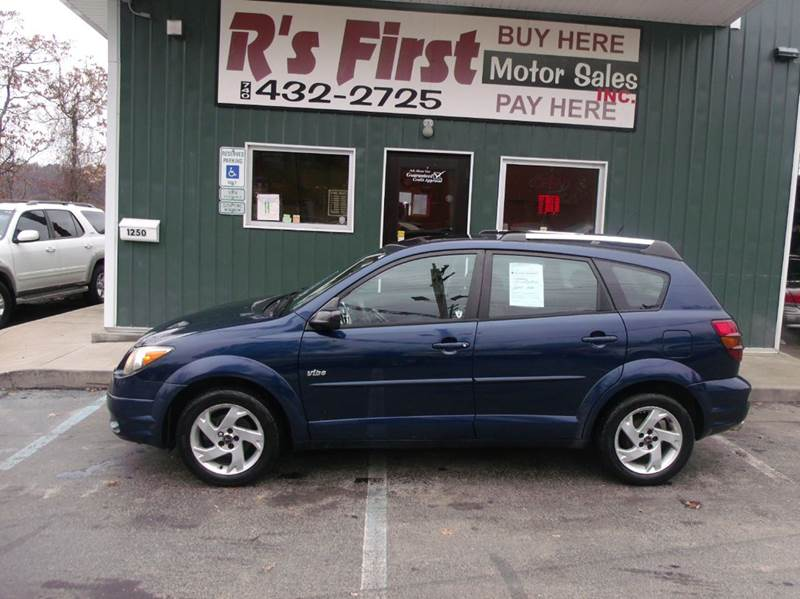 2003 Pontiac Vibe for sale at R's First Motor Sales Inc in Cambridge OH