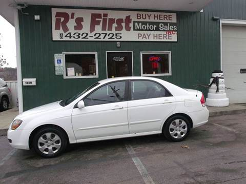 2009 Kia Spectra for sale at R's First Motor Sales Inc in Cambridge OH