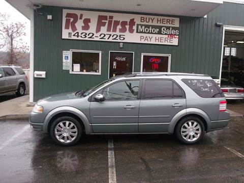 2008 Ford Taurus X for sale at R's First Motor Sales Inc in Cambridge OH