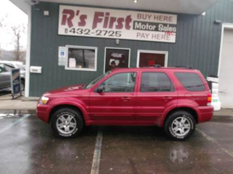 2005 Ford Escape for sale at R's First Motor Sales Inc in Cambridge OH