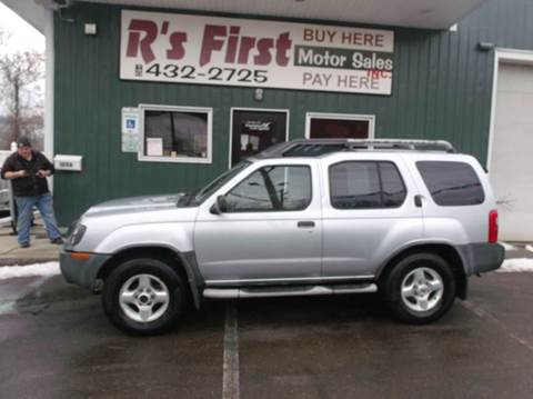 2003 Nissan Xterra for sale at R's First Motor Sales Inc in Cambridge OH