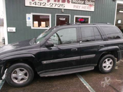 2004 Chevrolet TrailBlazer for sale at R's First Motor Sales Inc in Cambridge OH