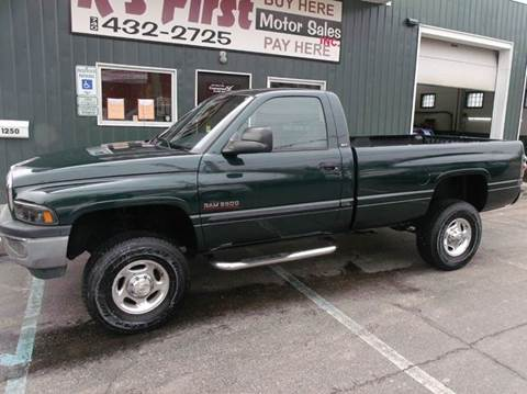 2001 Dodge Ram Pickup 2500 for sale at R's First Motor Sales Inc in Cambridge OH