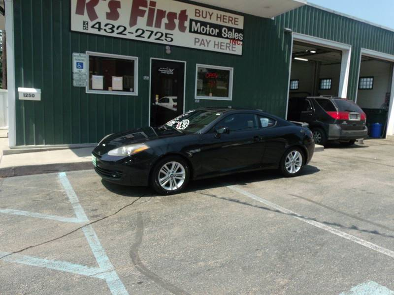 2007 Hyundai Tiburon GS 2dr Hatchback   Cambridge OH