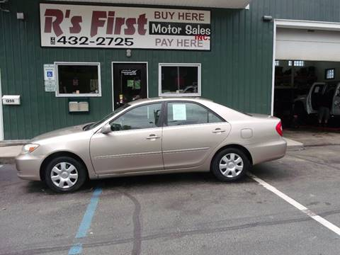 2003 Toyota Camry for sale at R's First Motor Sales Inc in Cambridge OH