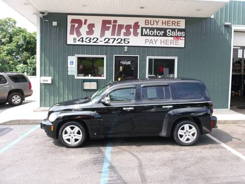 2008 Chevrolet HHR for sale at R's First Motor Sales Inc in Cambridge OH