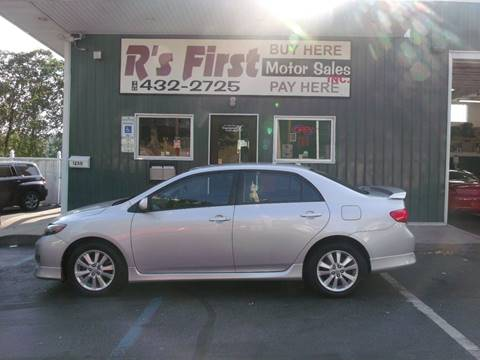 2010 Toyota Corolla for sale at R's First Motor Sales Inc in Cambridge OH