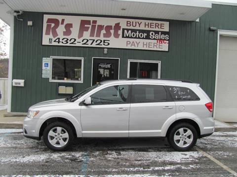 2012 Dodge Journey SXT for sale at R's First Motor Sales in Cambridge OH