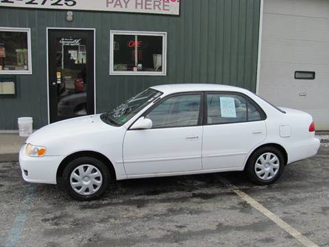 2001 Toyota Corolla LE for sale at R's First Motor Sales in Cambridge OH