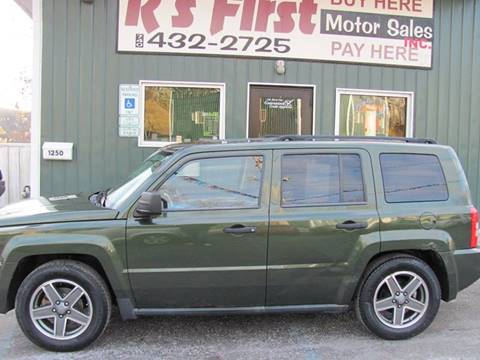 2008 Jeep Patriot Sport for sale at R's First Motor Sales in Cambridge OH