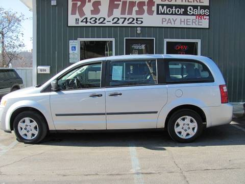 2008 Dodge Grand Caravan SE for sale at R's First Motor Sales in Cambridge OH