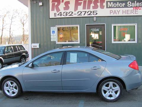 2008 Pontiac G6 for sale at R's First Motor Sales in Cambridge OH