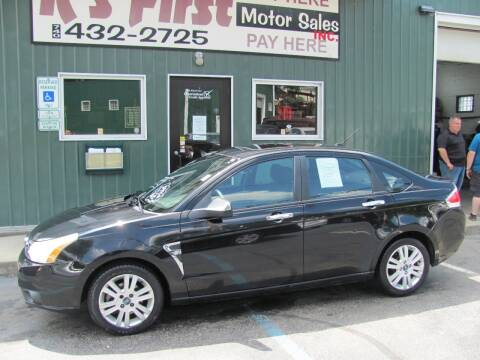 2008 Ford Focus for sale at R's First Motor Sales Inc in Cambridge OH
