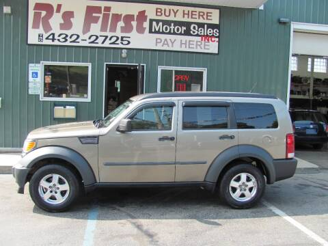 2007 Dodge Nitro for sale at R's First Motor Sales Inc in Cambridge OH