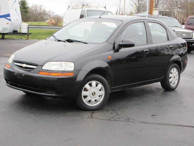 2004 Chevrolet Aveo Ls 4dr Sedan In Baltimore Oh The Car Company