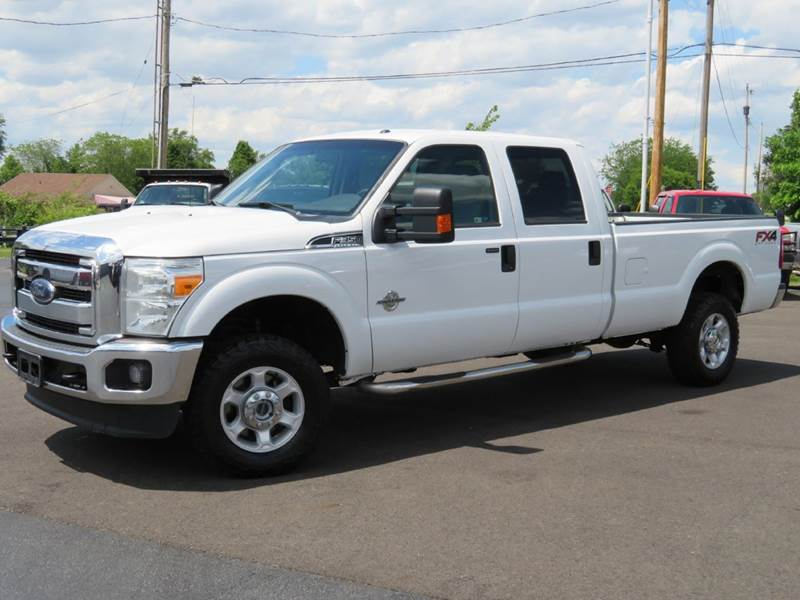 2013 ford f-350 super duty xlt 4x4 4dr crew cab 8 ft. lb srw pickup