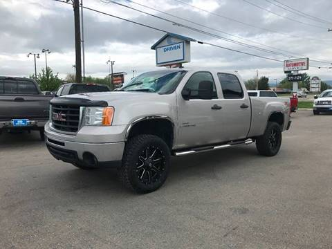 2009 GMC Sierra 2500HD for sale at DRIVEN in Boise ID