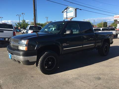 2004 Chevrolet Silverado 2500HD for sale at DRIVEN in Boise ID