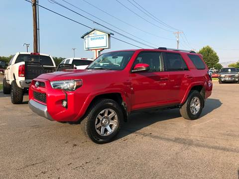 2016 Toyota 4Runner for sale at DRIVEN in Boise ID