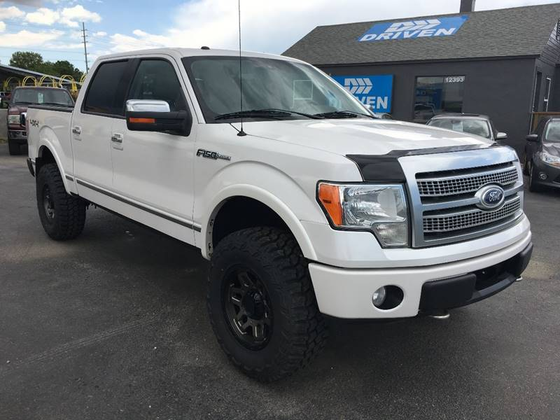 2010 ford f-150 platinum in boise id - driven