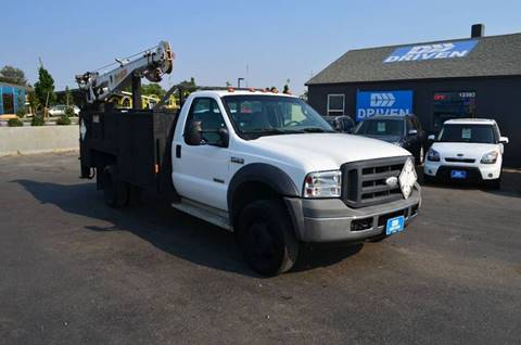 2005 Ford F-550 for sale in Boise, ID