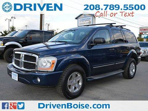2005 Dodge Durango for sale at DRIVEN in Boise ID