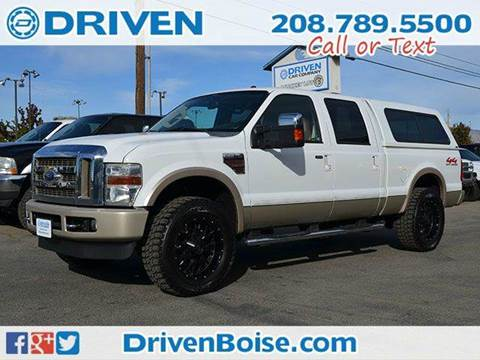 2008 Ford F-250 Super Duty for sale at DRIVEN in Boise ID