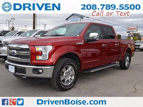 2016 Ford F-150 for sale at DRIVEN in Boise ID