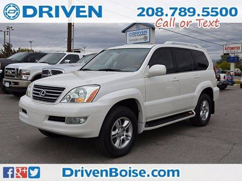 2004 Lexus GX 470 for sale at DRIVEN in Boise ID